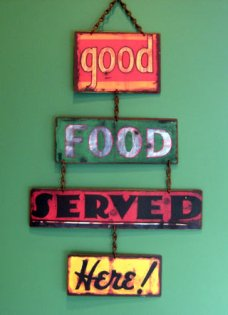 good-food-sign