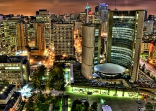 Toronto City Hall by Francisco Diez